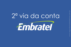2 via Embratel 2021- emitir fatura